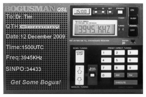 QSL from Bogusman-1