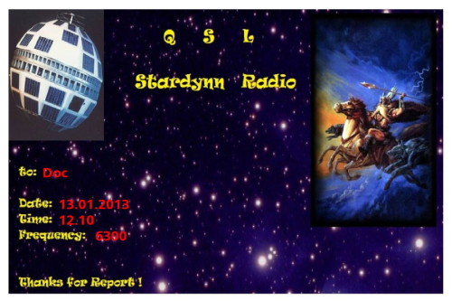 QSL Stardynn Radio