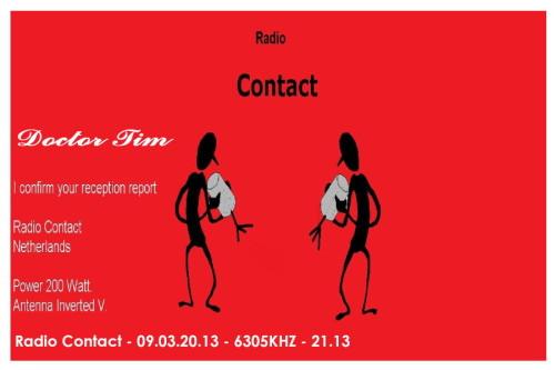 QSL Radio Contact