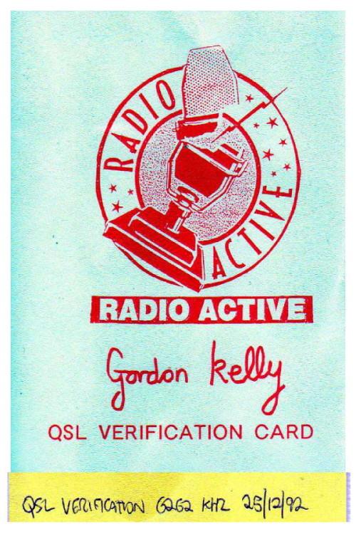 QSL Radio Active
