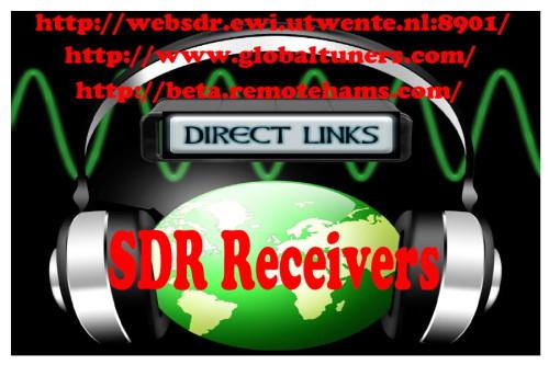 WEB Empfänger  & Web SDR's