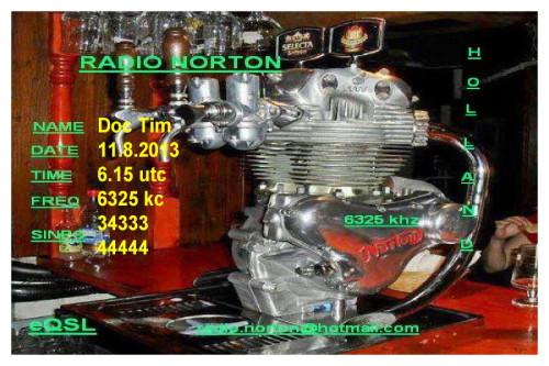QSL Radio Norton neu