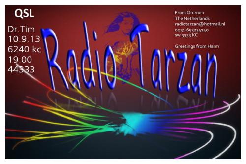 QSL Radio Tarzan