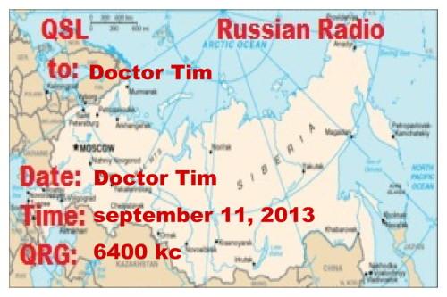 QSL Russian Radio