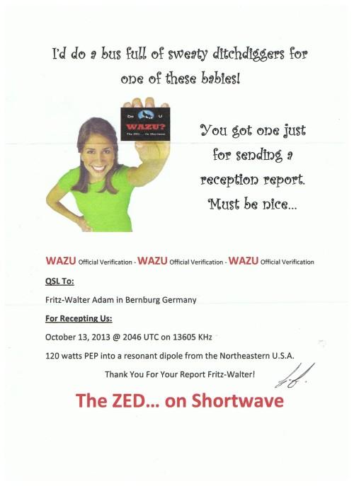 WAZU 01