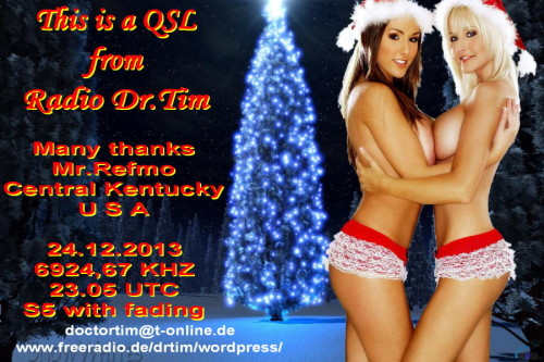 Dr.Tim - Weihnachts QSL 2011-3
