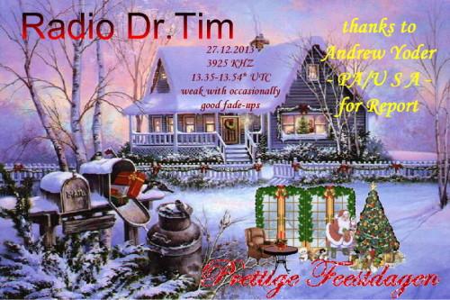 Dr.Tim - Weihnachts QSL 2011-11