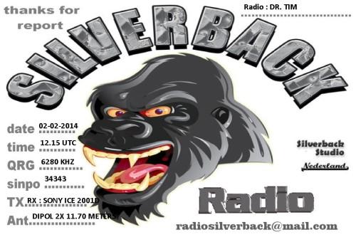 QSL Radio Silverback