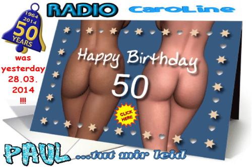 Happy Birthday Paul of Radio Caroline