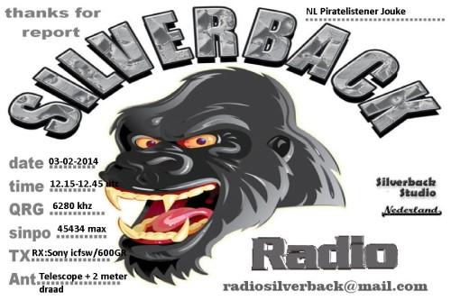 QSL Radio Silverback2