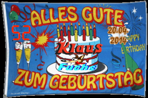 Happy Birthday Klaus Fuchs-2014