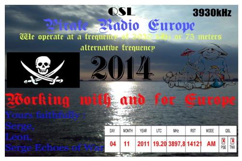 QSL Radio Euopa (UKR)