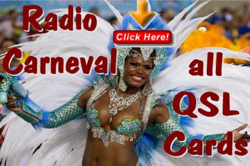 Radio Carneval-alle QSL Karten