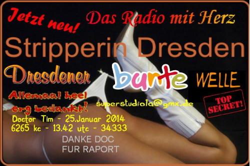 QSL Karte Dresdener Bunte Welle