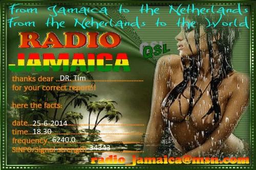 QSL Radio Jamaica