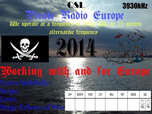 QSL Radio Pirat Europe