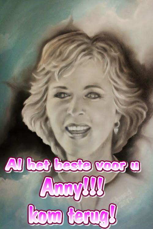 Al het best voor u Anny