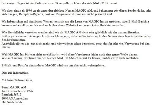 Magic AM 2