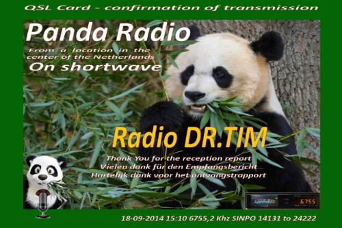 QSL Radio Panda