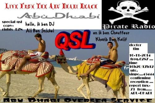 QSL Radio Abu Dhabi