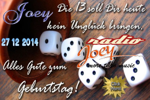 Happy Birthday Joey-2014