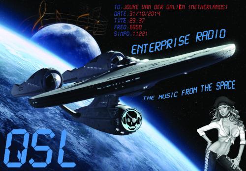 Jouke qsl Enterprise