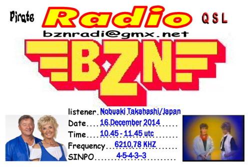 QSL Radio BZN-8