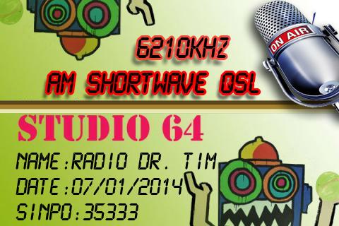 Radio Dr Tim 07012014