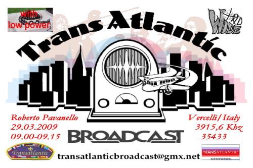 Transatlantic Broadcast