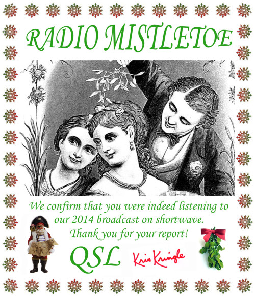 Mistletoe 2014 eQSL