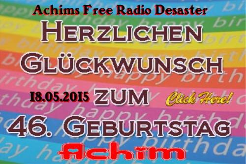 Happy Birthday Achim-2015