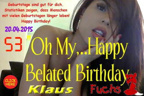 Happy Birthday Klaus Fuchs-2015