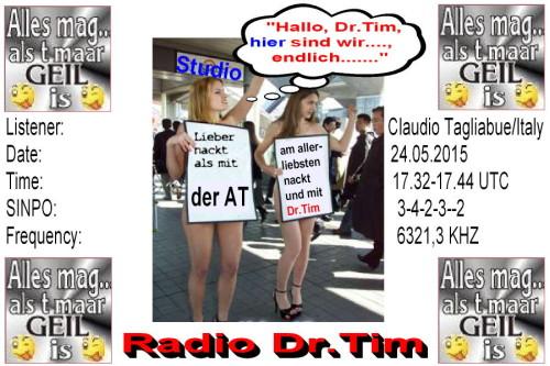 Dr.Tim-QSL - Geil