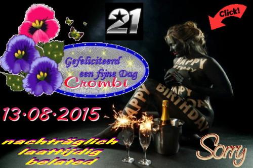 Happy Birthday Crombi-2015