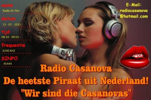 QSL Radio Casanova-2 dr.tim