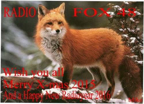 Original Fox Marry X-mas