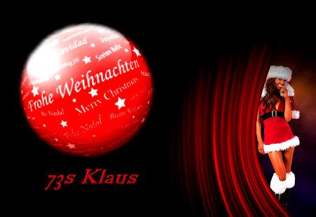 Weihnachtsgrüße 2015 Klaus