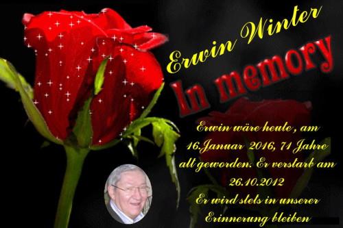 Erwin Winter in Memory (2016)