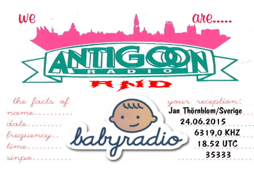 Radio Antigoon - Babyradio