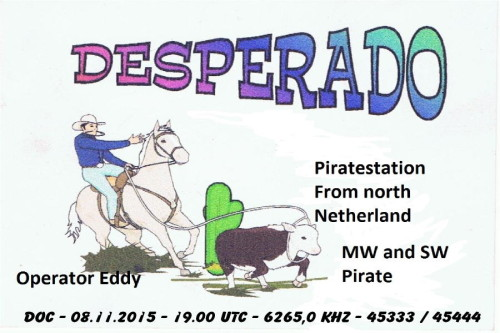 QSL Radio Desperado