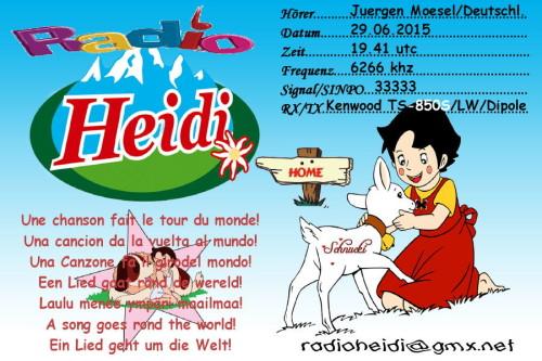 QSL Radio Heidi