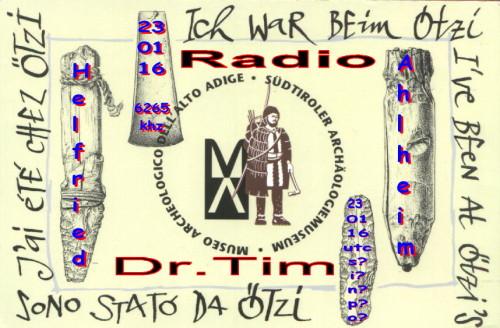 Dr.Tim-QSL - Ötzi