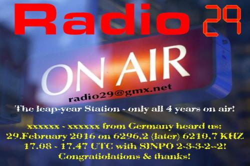Radio 29-2