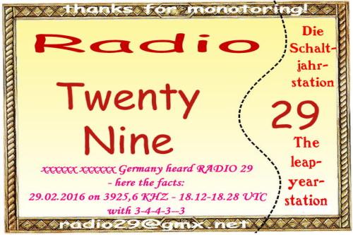 Radio 29-5