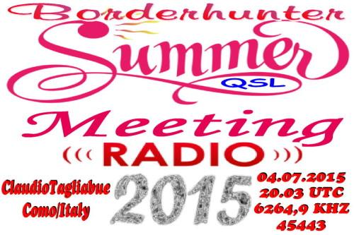 Summermeeting 2015 - QSL-2