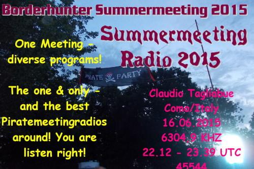 Summermeeting 2015 - QSL