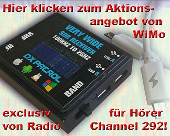 DX Pacrol WWSDR Receiver (Channel 292)