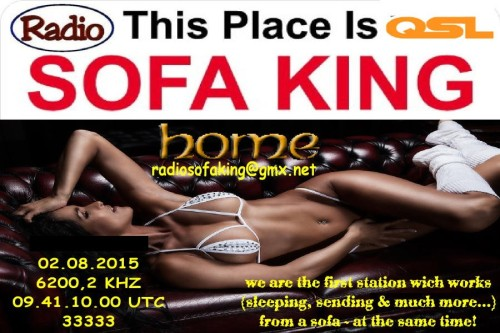 QSL Sofa King Radio
