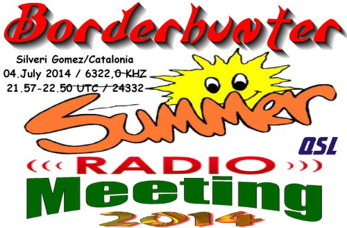 Summermeeting 2014 - QSL-2