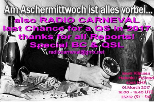 Radio Carneval-13 - Aschermittwoch